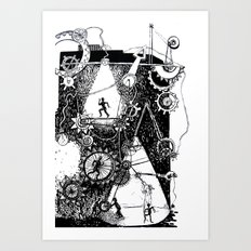 machine Art Print
