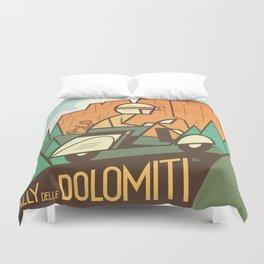 Dolomiti Rally Duvet Cover