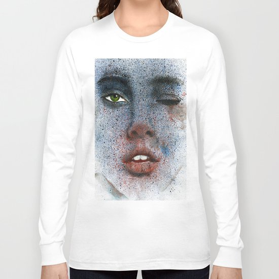 Space girl Long Sleeve T-shirt