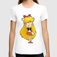 sailor venus T-shirts featuring Sailor Scout Sailor Venus by Space Bat designs