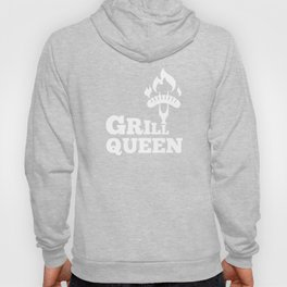 Grill Queen Cool Barbeque BBQ Sausage Hoody