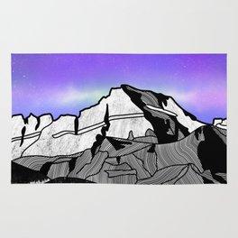 Mount Gould Montana Rug