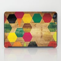 bebop iPad Cases featuring Wood Prints by Simi Design
