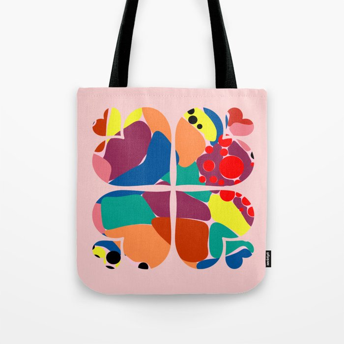 Heart Star Tote Bag