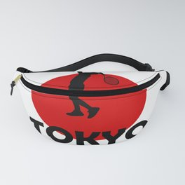 Tennis and Tokyo Fanny Pack