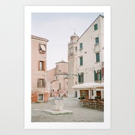Quiet Venice Alley Art Print