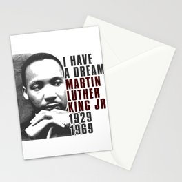 I Have a Dream Martin Luther King Jr Stationery Cards