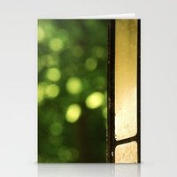 outdoor Stationery Cards featuring Outdoor Bokeh by Red and The Beard