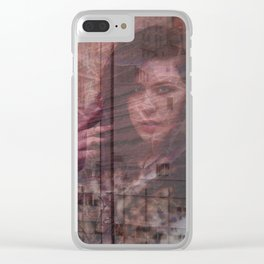 Lisa Marie Basile, No. 94 Clear iPhone Case