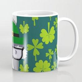 St. Patrick's Day decor with cute little fox Coffee Mug