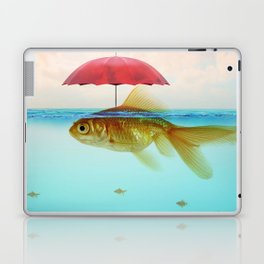 Under Cover Goldfish Laptop & iPad Skin