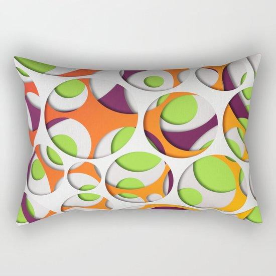 Interarea #04 Rectangular Pillow