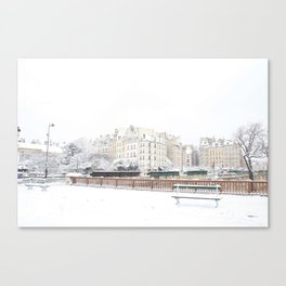 Snowflake in Pars Canvas Print