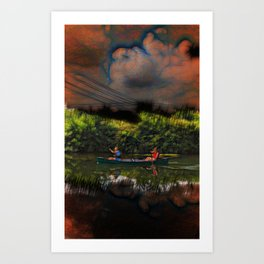 Water Electricity And Urgency Art Print