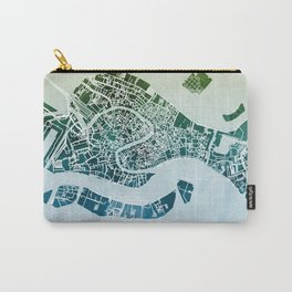 Venice Italy City Map Carry-All Pouch