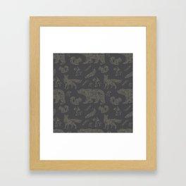 Shafted Woods Framed Art Print