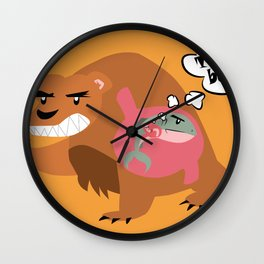The Food Chain Wall Clock