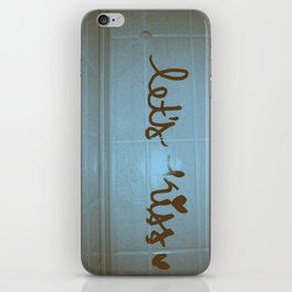 let's kiss  iPhone Skin