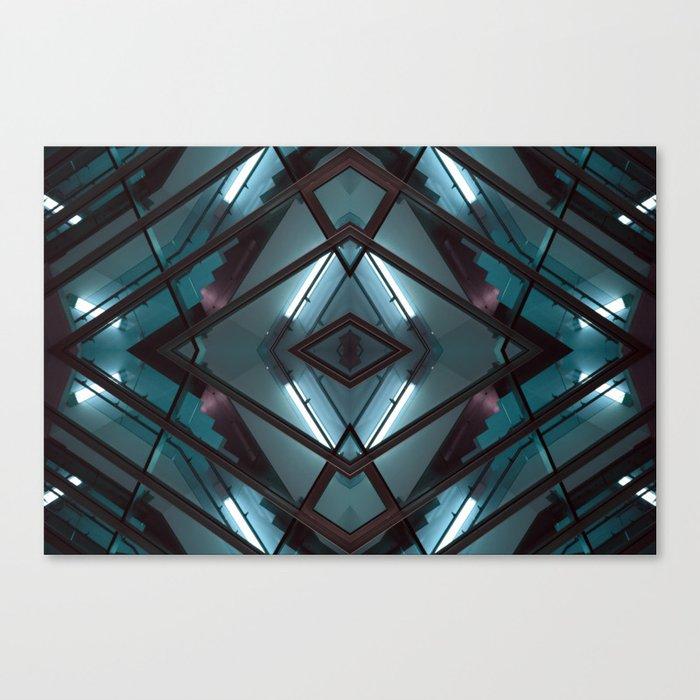 JWS 1111 (Symmetry Series) Canvas Print
