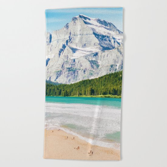The Perfect Vacay #society6 #decor #buyart Beach Towel