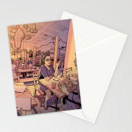 Sun Moth Stationery Cards