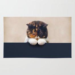Desperate Cat Rug