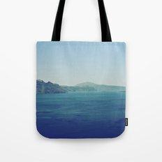 Greek Island Blues Tote Bag