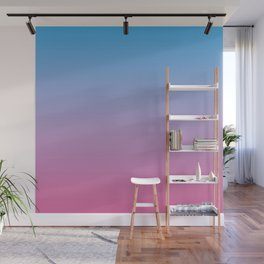 Gradient Ombre Colors #1 Wall Mural