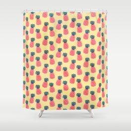 Ananas Tutti Frutti - Tropical Bliss Shower Curtain