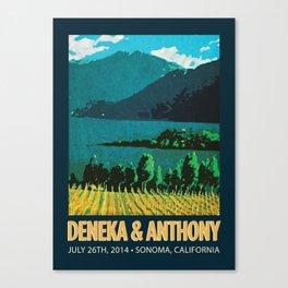 Deneka's Print Canvas Print