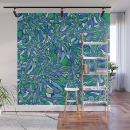 Trippy-Oceania colorway Wall Mural