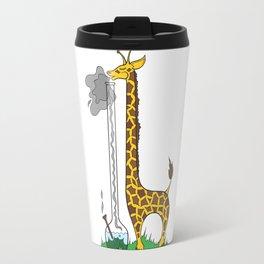 Long Long Giraffe Bong Travel Mug