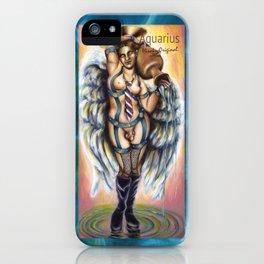 12 signs series - Aquarius iPhone Case