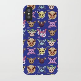Eeveelutions Blue iPhone Case