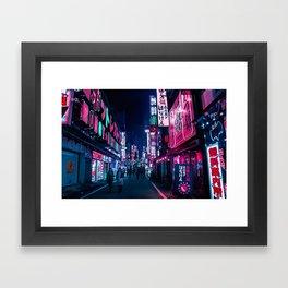 Nocturnal Alley Framed Art Print