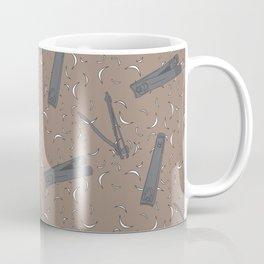 Nail Clippers Coffee Mug