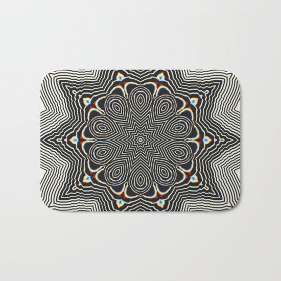 Full Om Mandala Bath Mat