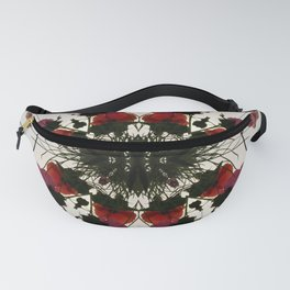 Pretty Mallows and Poppies Fanny Pack