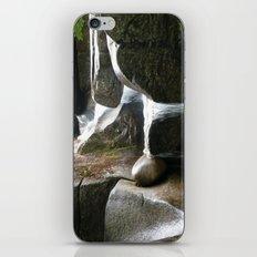 Rocky water fall iPhone & iPod Skin
