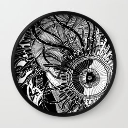 Puzzled Thoughts Wall Clock