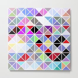 Triangle No. 2 Metal Print