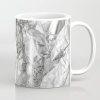 silver Mugs featuring Silver by RK // DESIGN