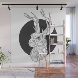 The Jackelope Wall Mural