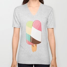Ice cream 005 Unisex V-Neck