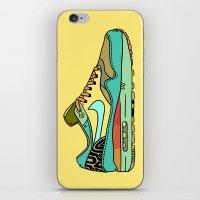 nike iPhone & iPod Skins featuring nike 001 by Marcelo Romero