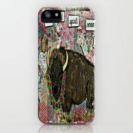 Let my spirit roam free iPhone Case