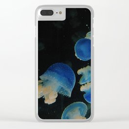 squiggly fish Clear iPhone Case