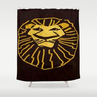 simba Shower Curtains featuring Simba/Lion King by Jide
