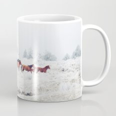 Winter Horse Herd Mug