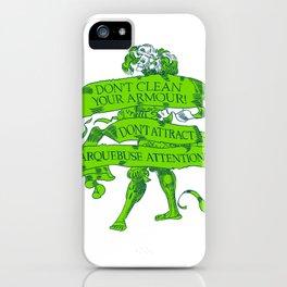 Wise Landsknecht #1 iPhone Case